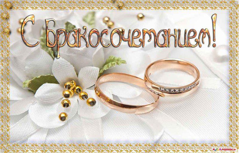 Поздравление молодым с законным браком 442