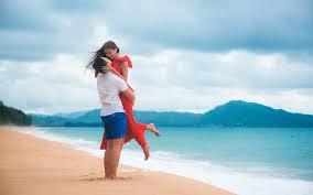 Фото частные пар на пляже