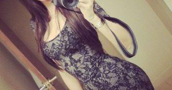 Картинки девушек с красивой фигурой в мини платьях (35 фото)