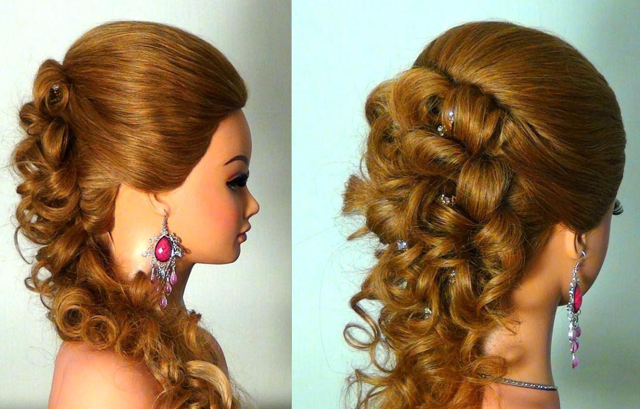 Посмотреть красивые причёски на длинные волосы