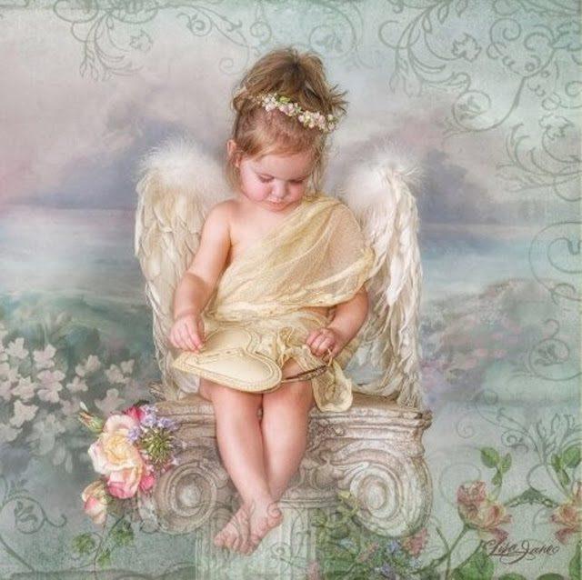 Фото ангелов с крыльями дети