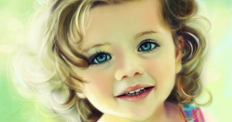 Красивые картинки малышей (36 фото)