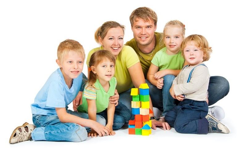 Картинки большая счастливая семья