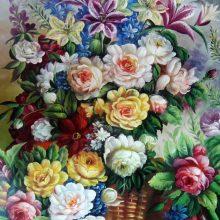 Нарисованные картинки красивые цветы (37 фото)