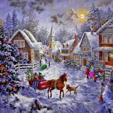 Красивые картинки зимняя сказка (35 фото)