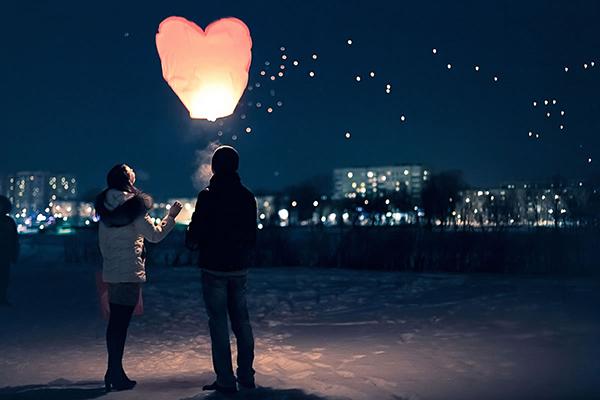 Парень и девушка фото романтика