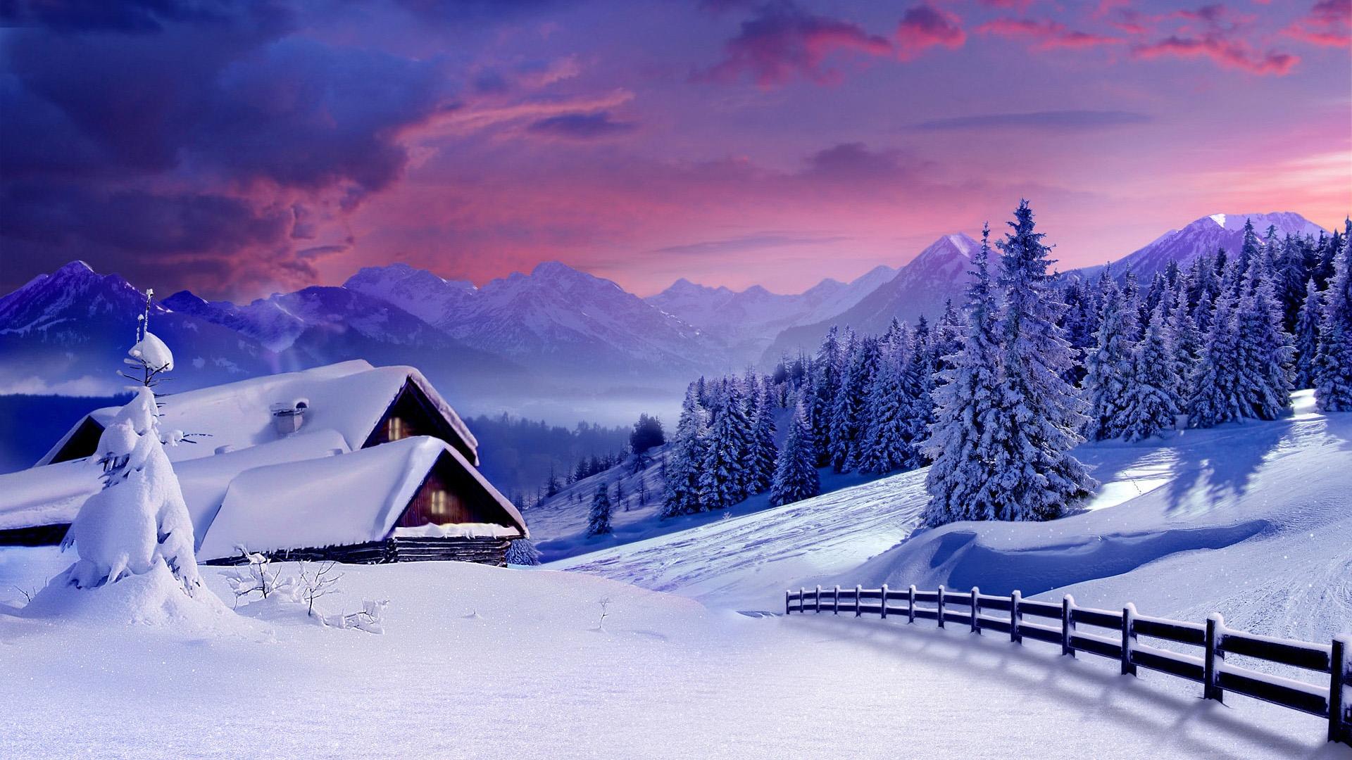 Картинки на рабочий стол зимы красивые большие на весь экран бесплатно
