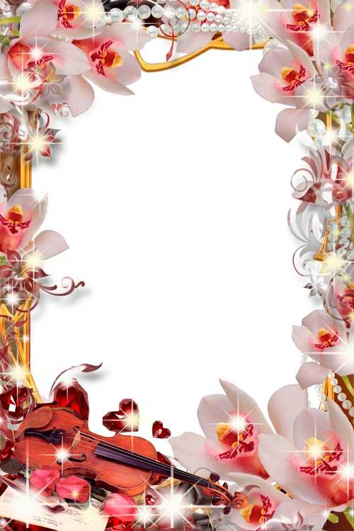 С днем рождения картинки женщине картинки с орхидеями