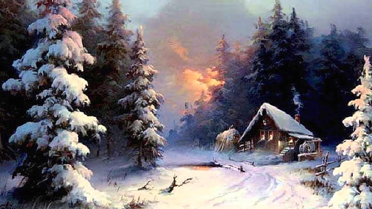 Рисованный Санта Клаус обои для рабочего стола картинки и