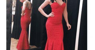 Красивые платья Настасьи Самбурской (30 фото)