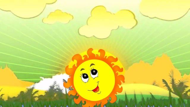 Картинки солнышко с зонтиком