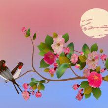 Картинки птицы на ветках (33 фото)