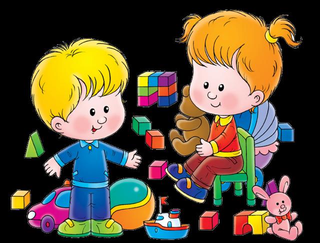 Детские площадки в саду картинки