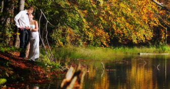 Картинки осень любовь (35 фото)