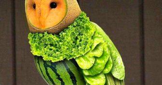 Картинки поделки из овощей (35 фото)