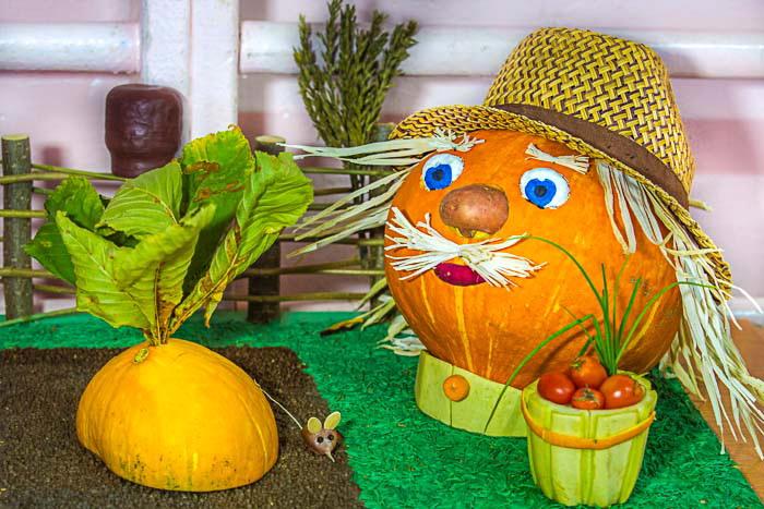 Поделки из овощей для начальной школы