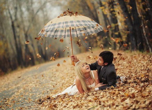 Осень в парке картинка