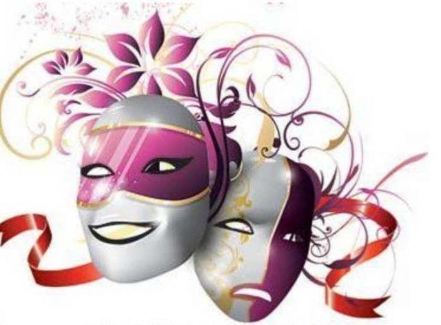 фото театральной маски