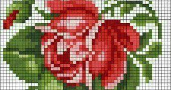 Схемы вышивки крестом миниатюры и маленькие картинки (35 фото)