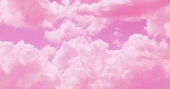 Картинки розовые облака (37 фото)