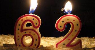 Картинки С днем рождения 62 года (24 фото)