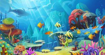 Картинки морское дно (35 фото)