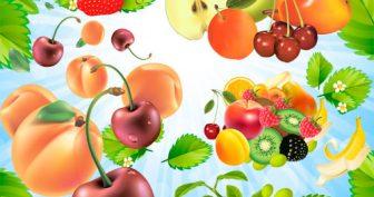 Картинки овощи и фрукты на прозрачном фоне (14 фото)
