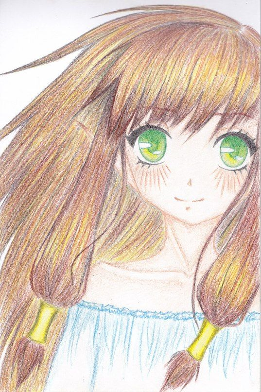аниме фото рисунков