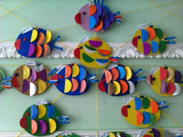 Рыбки для поделки аквариум 557