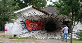 Смешные картинки домов (32 фото)
