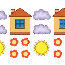 Картинки домика для детей для занятия (19 фото)