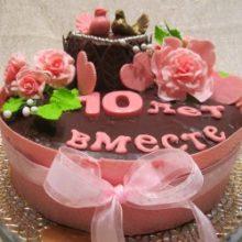 Прикольные торты на годовщину свадьбы (35 фото)