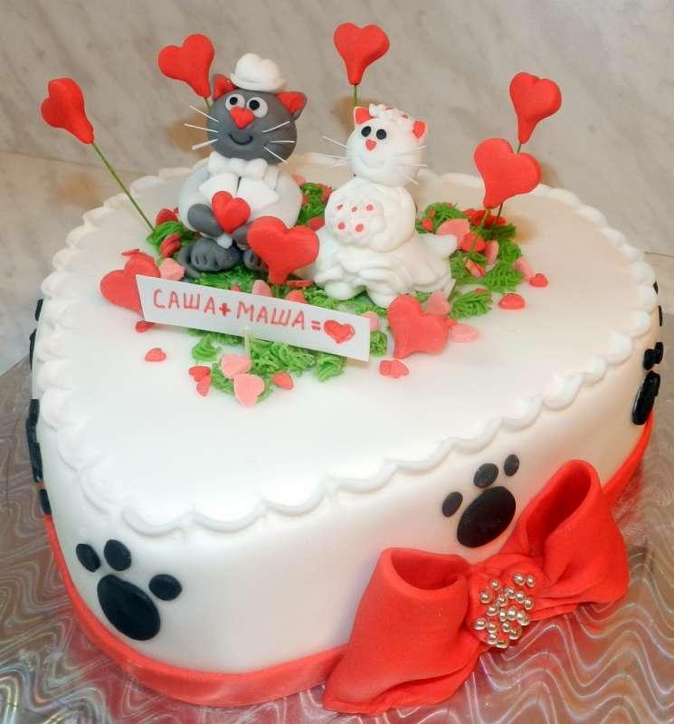 Тортик к годовщине свадьбы фото
