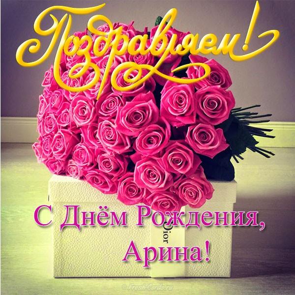 Поздравления с днем рождения сестре арине 85