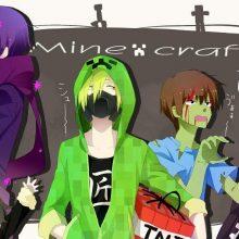 Картинки Майнкрафт аниме (19 фото)