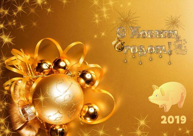 Поздравления на Новый Год 2019 прикольные