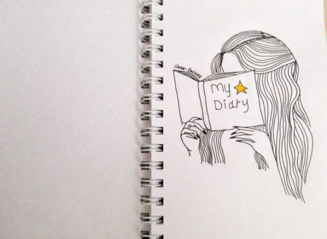 Как нарисовать листопад карандашом поэтапно