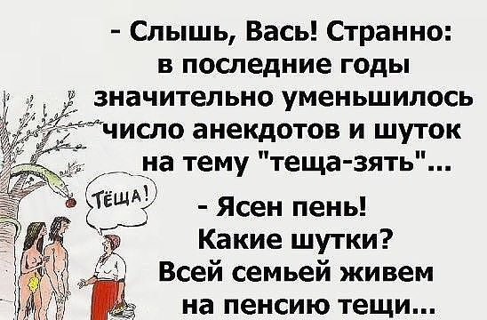 Анекдоты Про Тещу